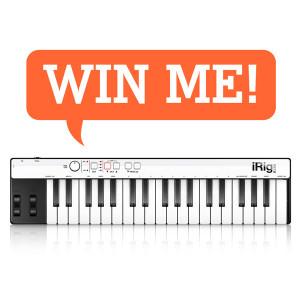 Win an IK Multimedia iRig Keys from SMG Media